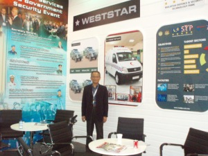 Weststar participation at IDEX2011 Abu Dhabi is an awareness program